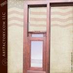 oval window front door