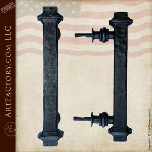decorative bridge door pull