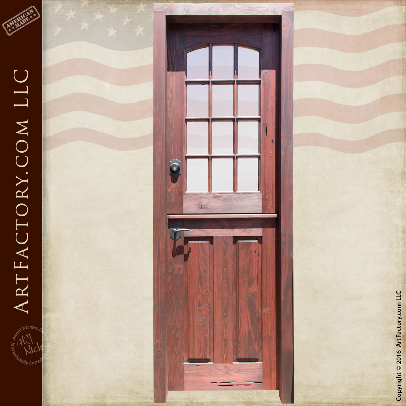 Dutch style custom door