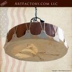 custom western style chandelier