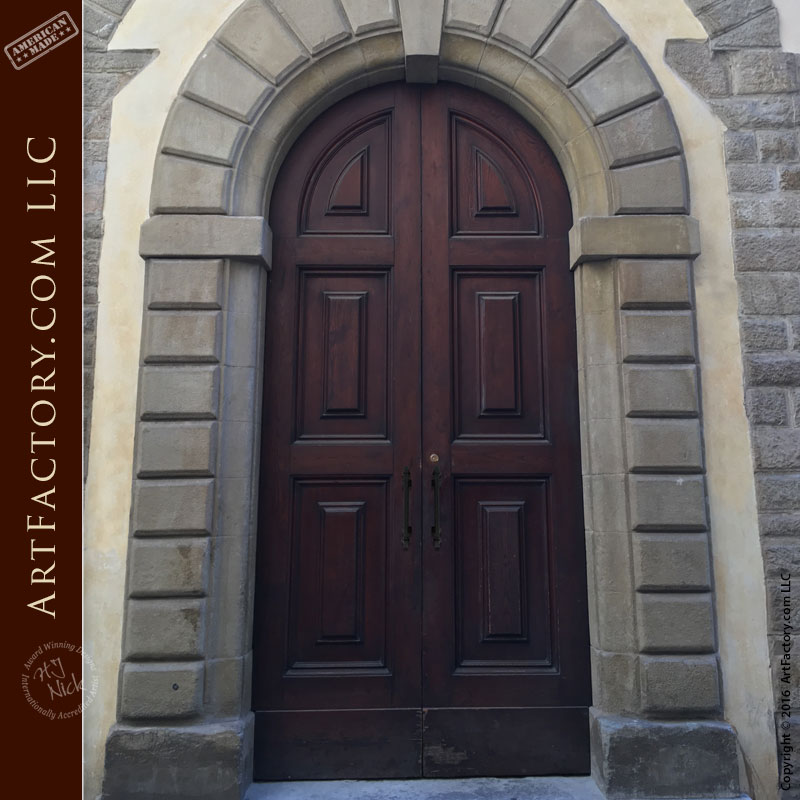 Rome collection custom entry doors