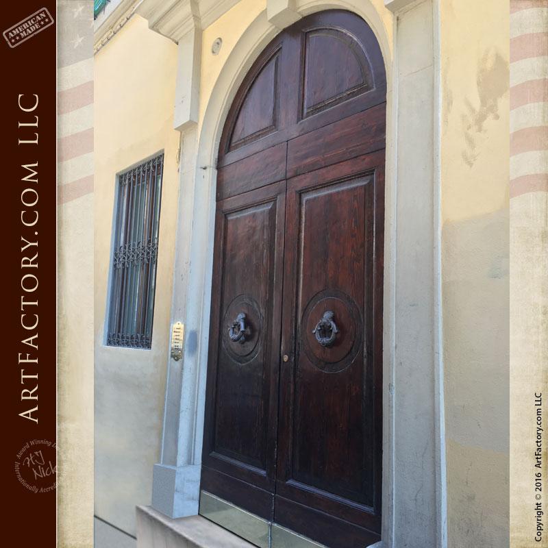 custom wood exterior door