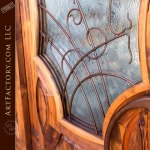 Parisian style custom door