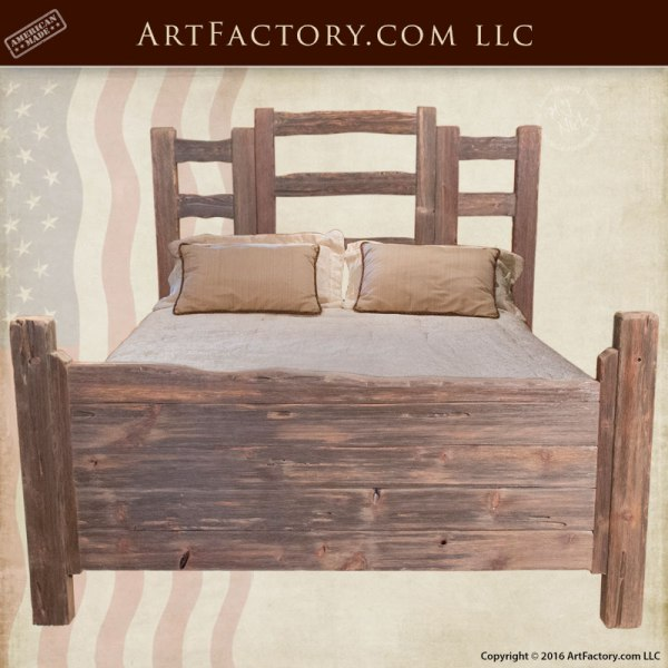 Custom Wood Furniture - Western Bedroom Set - Scottsdale Art Factory