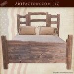 custom western style bedroom set