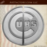 Chicago Cubs custom door pull