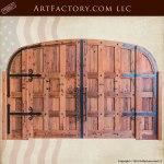 custom wine cellar doors