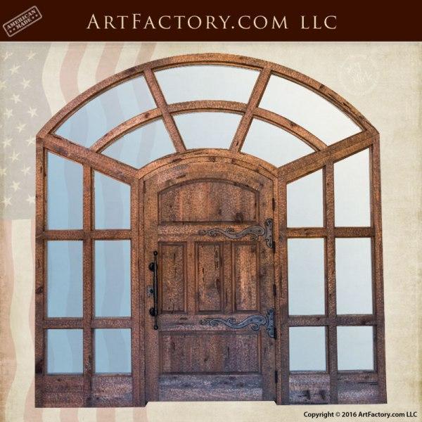 Doors - Wood Iron & Glass