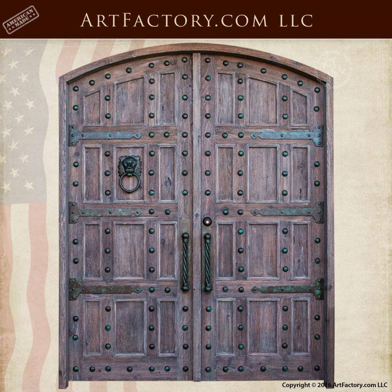 castle entrance double doors