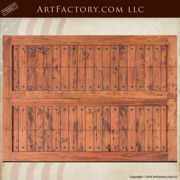 custom craftsman style garage door