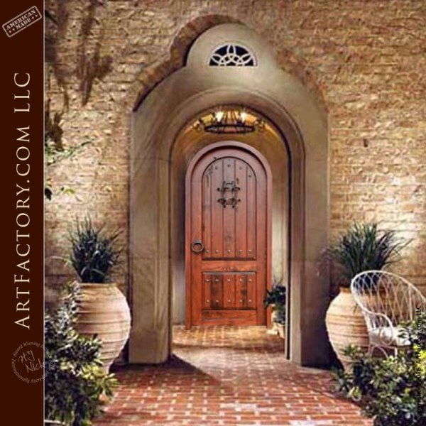 Decorative Arched Handmade Doors