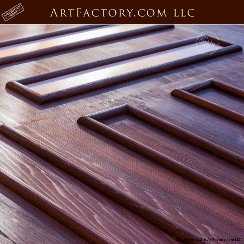 Craftsman Style Garage Door Greene Greene Design Solid Wood Roll Up
