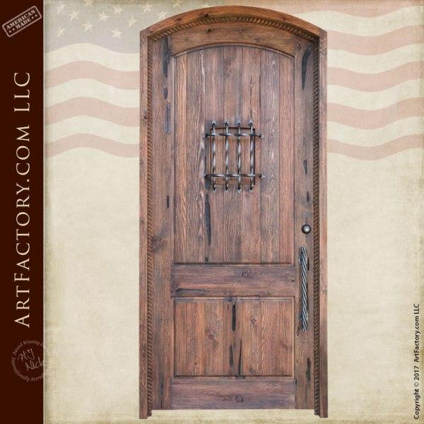 Custom Doors - Solid Wood