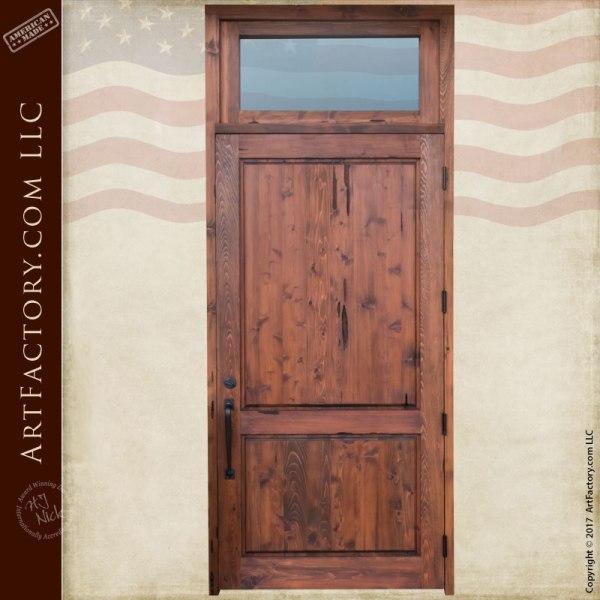 custom entry doors.  custom solid wood entry door with transom Custom Entry Doors Exterior Transom Scottsdale Art