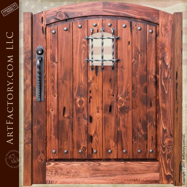 Gates - Wood And Iron