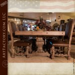 Custom Made Dining Table And Chairs