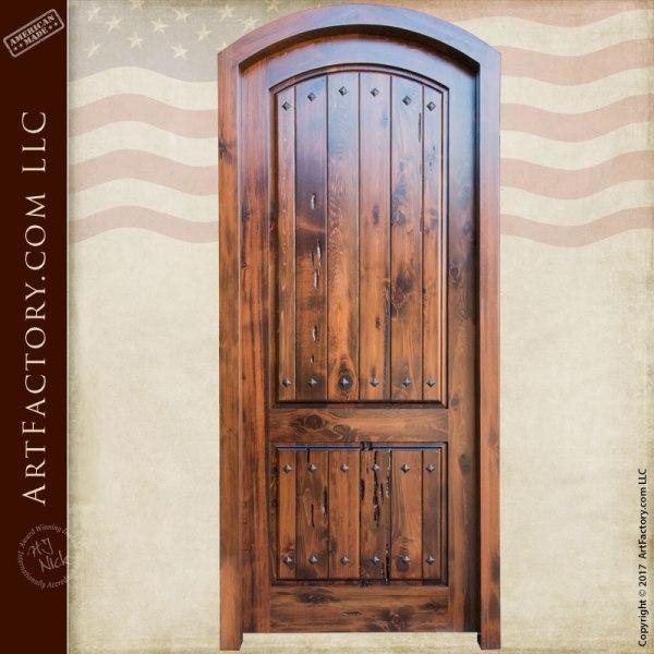 Custom Eyebrow Arched Door