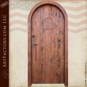 Arched Custom Castello Style Door