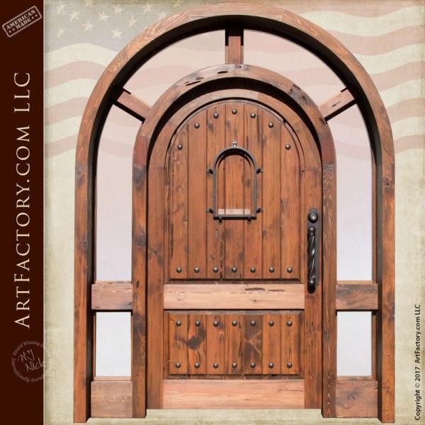 Full Arch Entrance Door