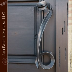 four panel custom door