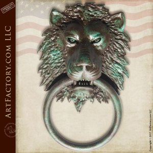 Lion Head Custom Door Knocker