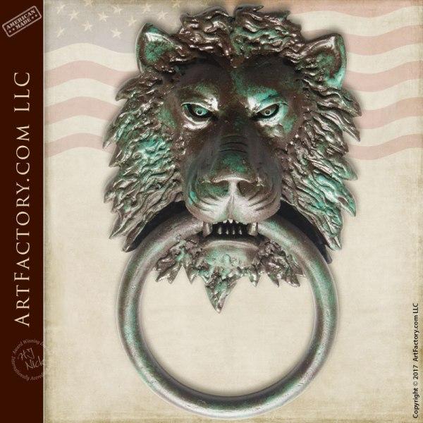 Lion Head Custom Door Knocker