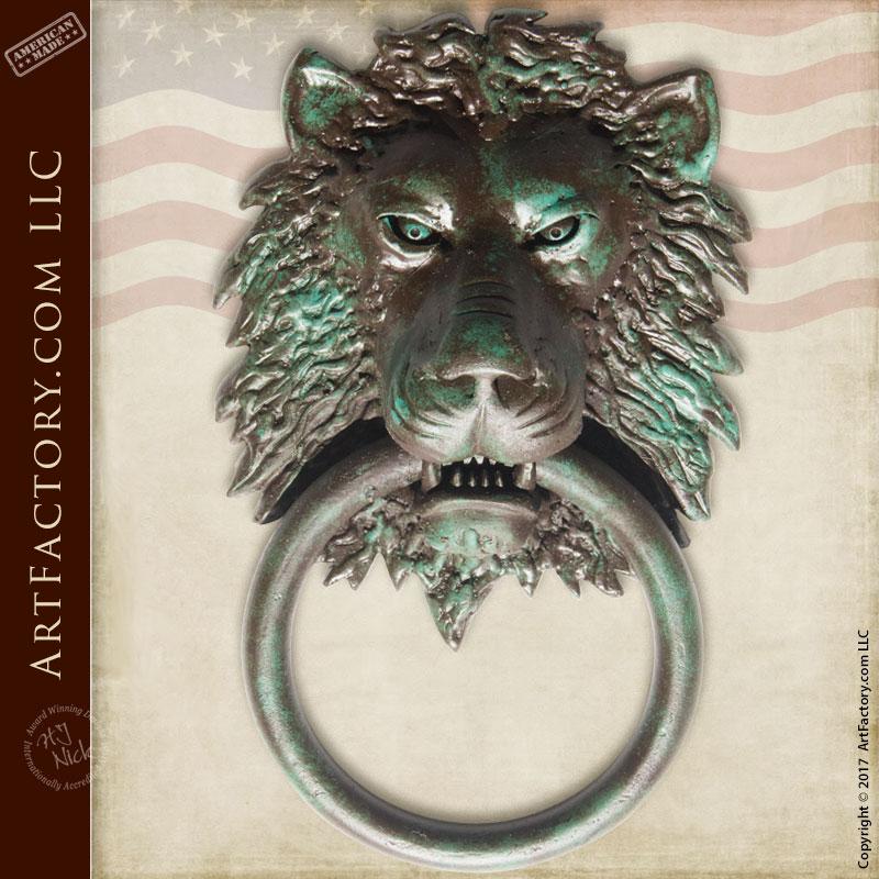 Custom Wrought Iron Door Knockers And Ring Pulls