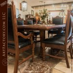 Dining Table Master Hand Carved Heirloom
