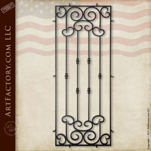 Custom Iron Security Grill: Decorative Door Grills In Any Size