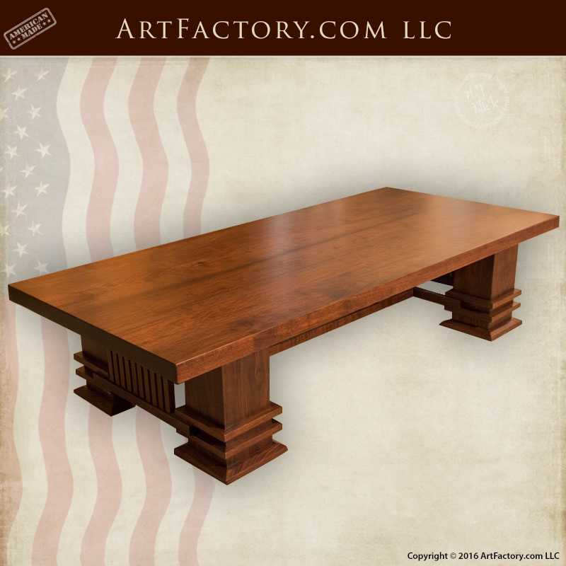Craftsman-Style-Coffee-Table