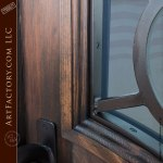 hand forged iron security door