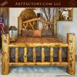 Custom Lodge Bed