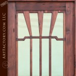 craftsman doors solid wood entry door