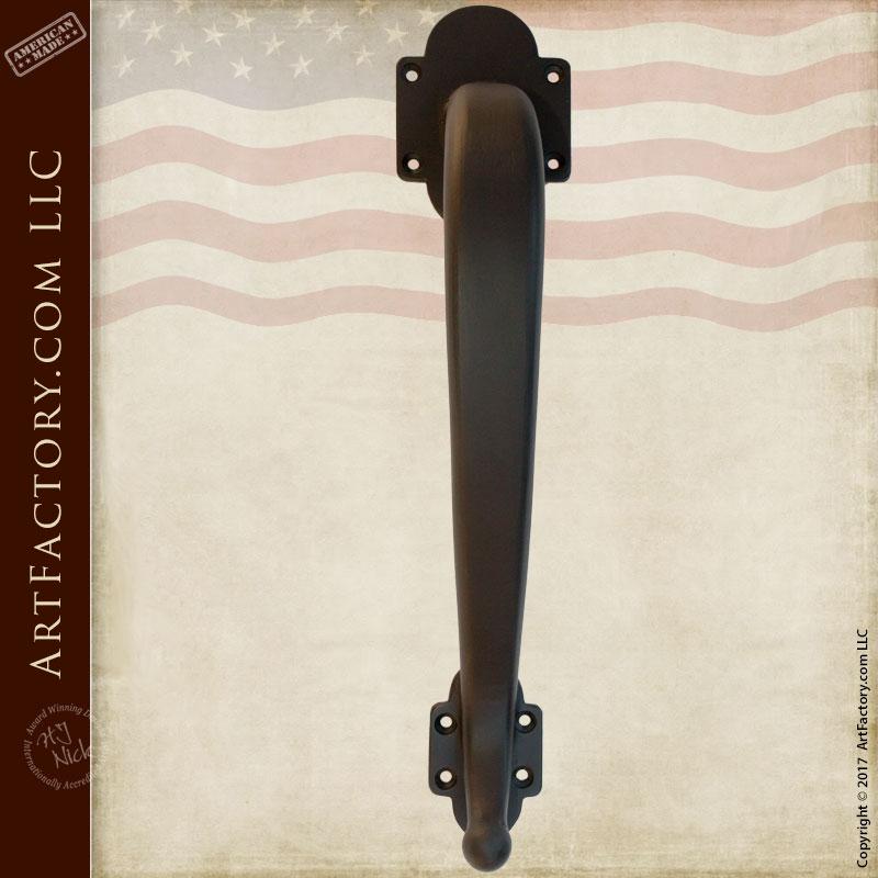 Custom Wrought Iron Door Pull   Hand Forged Door Handle U2013 HH450