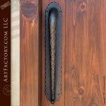 fortress door with speakeasy grill