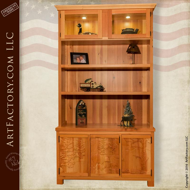 Solid Wood Display Cabinet Solid Wood Display Cabinet