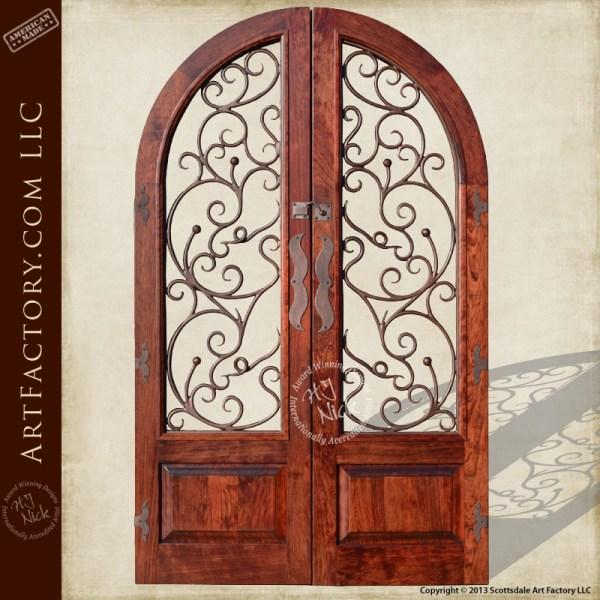 arched entrance gate