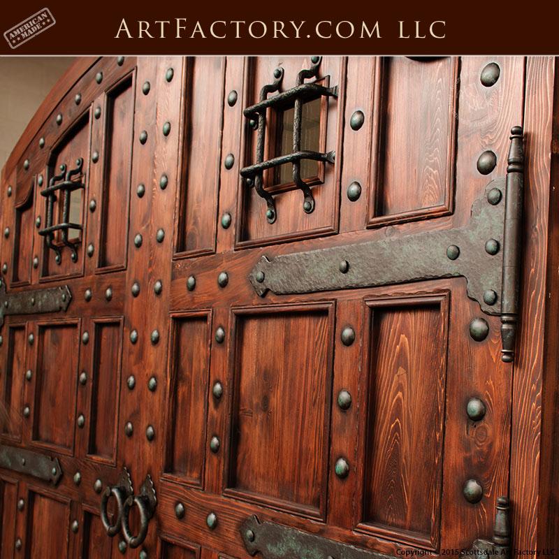 castle style doors