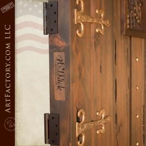 music themed custom gate
