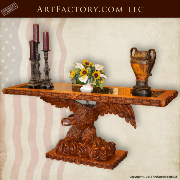 American Eagle Console Table