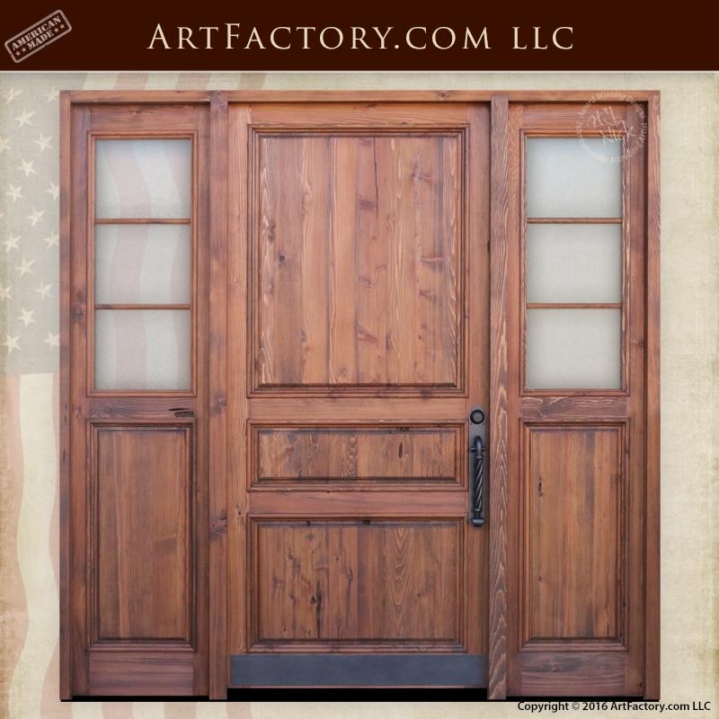 Custom 3 Panel Front Door Custom 3 Panel Front Door