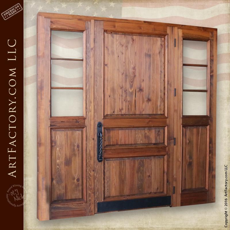 Custom 3 Panel Front Door