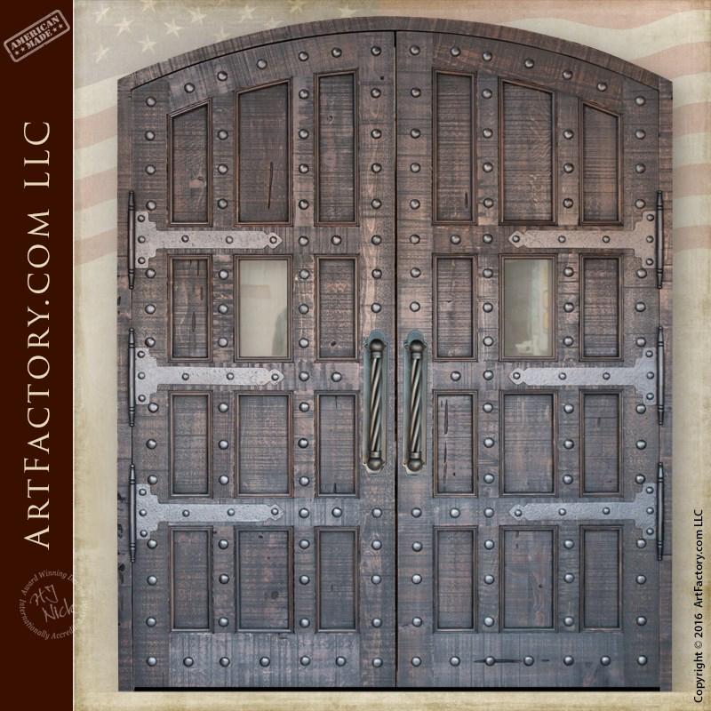 Gothic Grand Entrance Doors