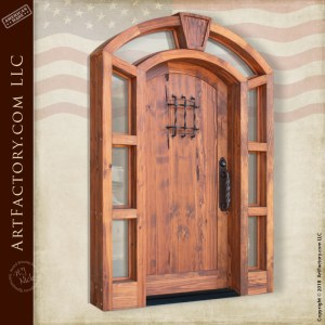 eyebrow arched speakeasy door