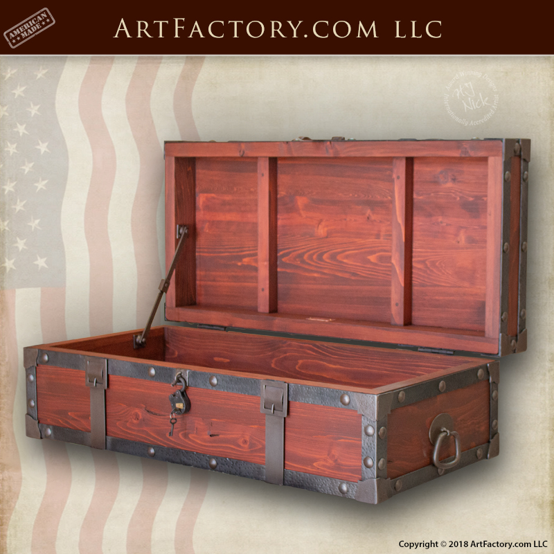 strong box storage chest