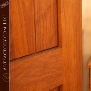 recessed 3 panel door