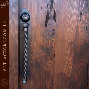 gothic inspired custom door