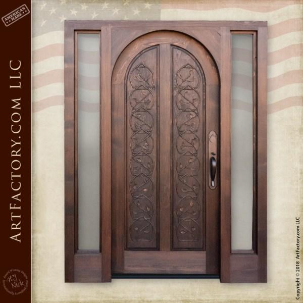 Baroque inspired custom door