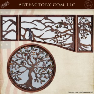 Custom Decorative Overlay Window Set