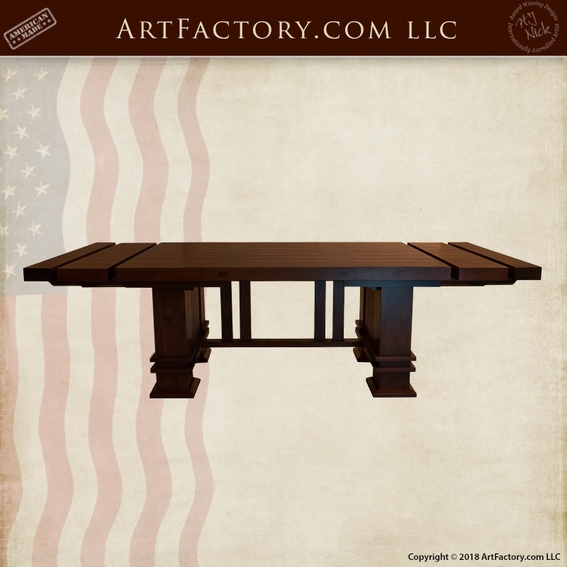 Frank Lloyd Wright Table With Leaf